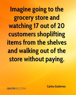 Grocery store Quotes