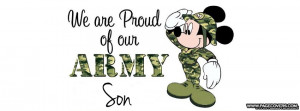 Proud Army Son Cover Ments