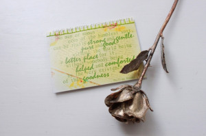 Phillips Brooks quote on a vintage-inspired, encouraging, handmade ...