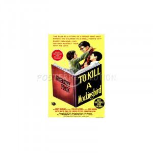To Kill a Mockingbird Book Movie Poster - 27x40