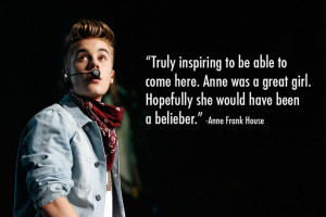Justin Bieber Quotes From Songs 2013