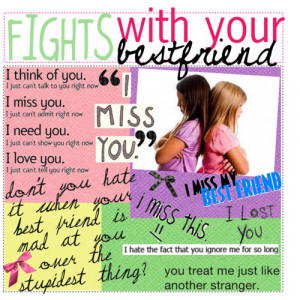 fights with your best friend