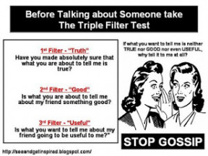 My point of view: Gossip