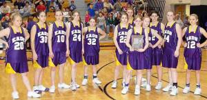 Eads Eagles Girls Basketball...