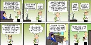 Dilbert - know your limits