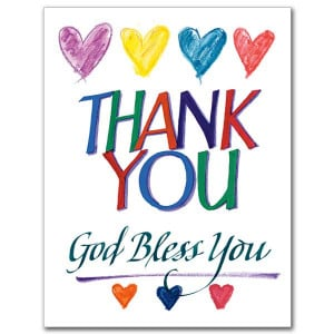 Religious Thank You Cards: The Gift of Saying Thanks