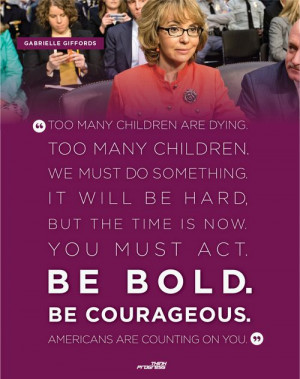 Powerful words from Gabby Giffords.