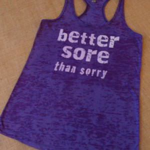 ... Soft. Racerback. Purple. Women. Size Small - 2XLarge Inspire. Quote