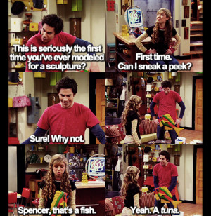 ... image include: icarly, sam pucket, funny, quotes and jerry trainor