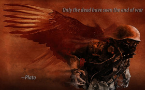 ... war soldier dead quotes plato 1680x1050 wallpaper Military Soldiers HD