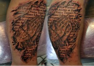 Prayer Tattoo Quotes