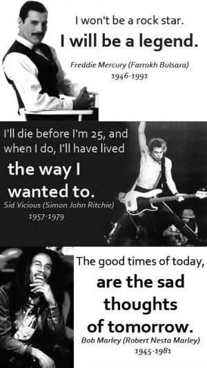 quote rock rock n roll rockstar