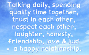 Quality Time quote #2