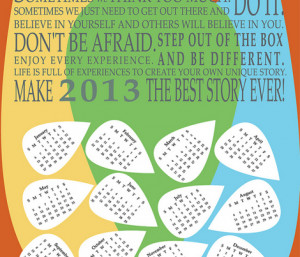 April Quotes and Sayings for Calendars