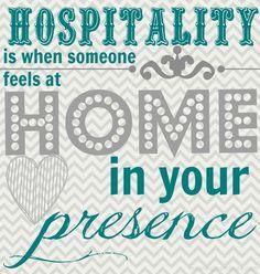 ESFJ Hospitality More