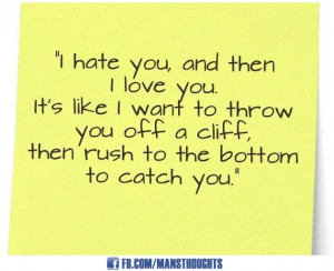 Love Relationship Quotes Love hate relationship quotes