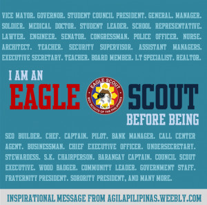 Reaching out to Eagle Scout Netizens