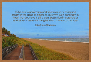 To be rich in admiration and Love quote pictures
