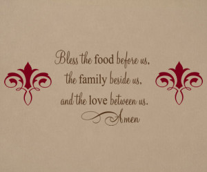 Bless My Family Quotes http://tradingphrases.com/bless-food-family ...
