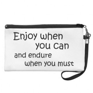 Inspirational quotes gifts wristlet purse gift