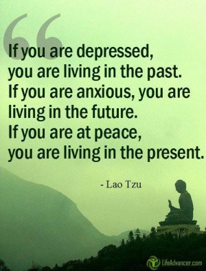 By Living in the Present, Every Moment of Life can be Joyful!