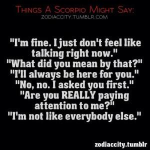 zodiac #sign #Scorpio #astrology #zodiaccity #quotes @funny_dude_101