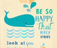 beautiful words / radiate positive energy! *smile*