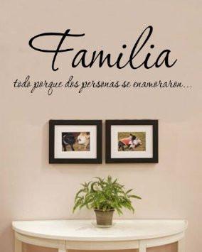 Familia Quotes Amazon.com: Familia Todo porque dos personas se