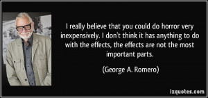 More George A. Romero Quotes