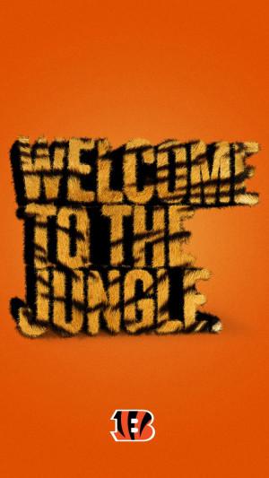 ... jungle with this Cincinnati Bengals smartphone wallpaper from Verizon
