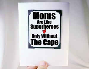 Mother's Day Card Funny Quote Card for Mom Birthday or Mother's Day ...