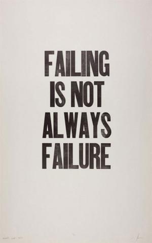 am not a failure