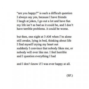 broken, deep, depression, quote, quotes, sadness, stop with the fucken ...