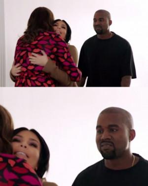 Kanye West meets Caitlyn Jenner