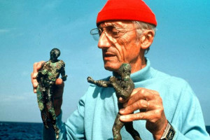 Jacques-Yves Cousteau made his first underwater films while serving ...