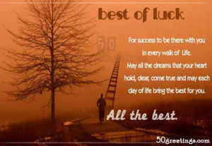 Good Luck Quotes: Quotes Addiction, Walks, Quotes Categori, Good Luck ...