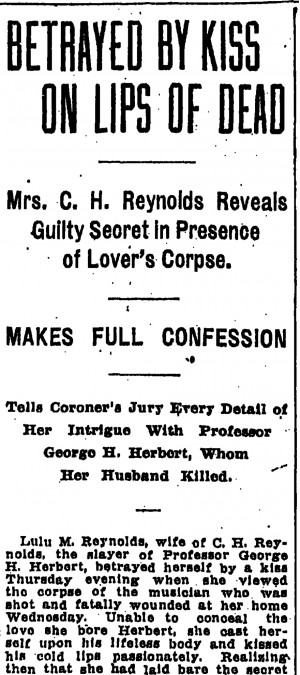The headline in the Portland Morning Oregonian on June 22, 1907,