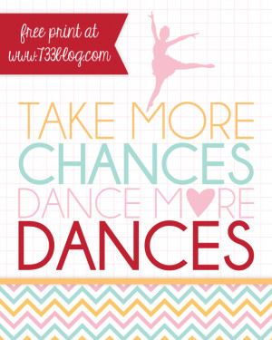 dance more dances i also added the name of the dance studio which i m ...
