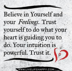 trust #intuition