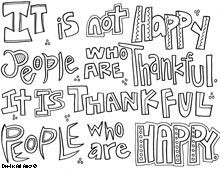 quote coloring page more quote coloring pages thanksgiving quotes ...