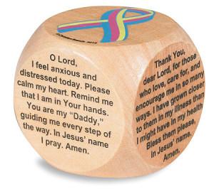 Healing Prayers for Cancer Prayer Cube