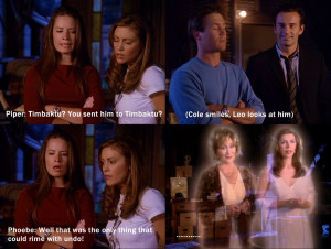 ... Charmed Again quote.jpg - Charmed Wiki - For all your Charmed needs