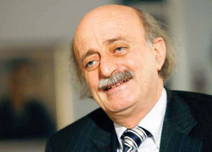 "And why not, I would support this,"" Jumblatt interjected; ""This is ..."