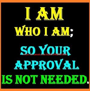 Am Who I Am... ::)