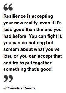 ... friends... We truly are living the definition of the word Resilience