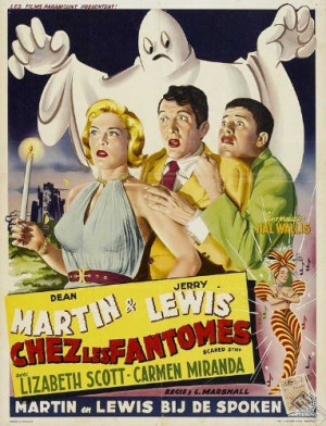 Funny movie quotes from the Dean Martin and Jerry Lewis comedy, Scared ...