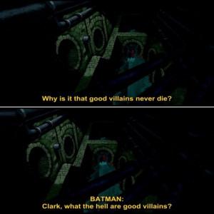 Favourite batman quote