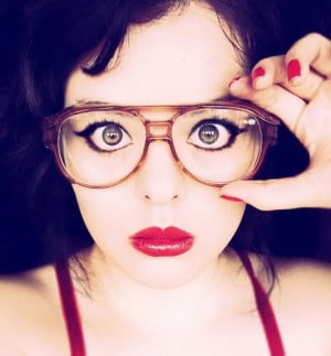 Men Don't Make Passes at Girls Who Wear Glasses*