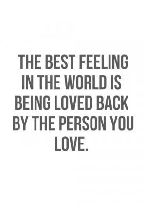 The Best Feeling in the World Quotes
