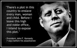 President John F. Kennedy On The Illuminati